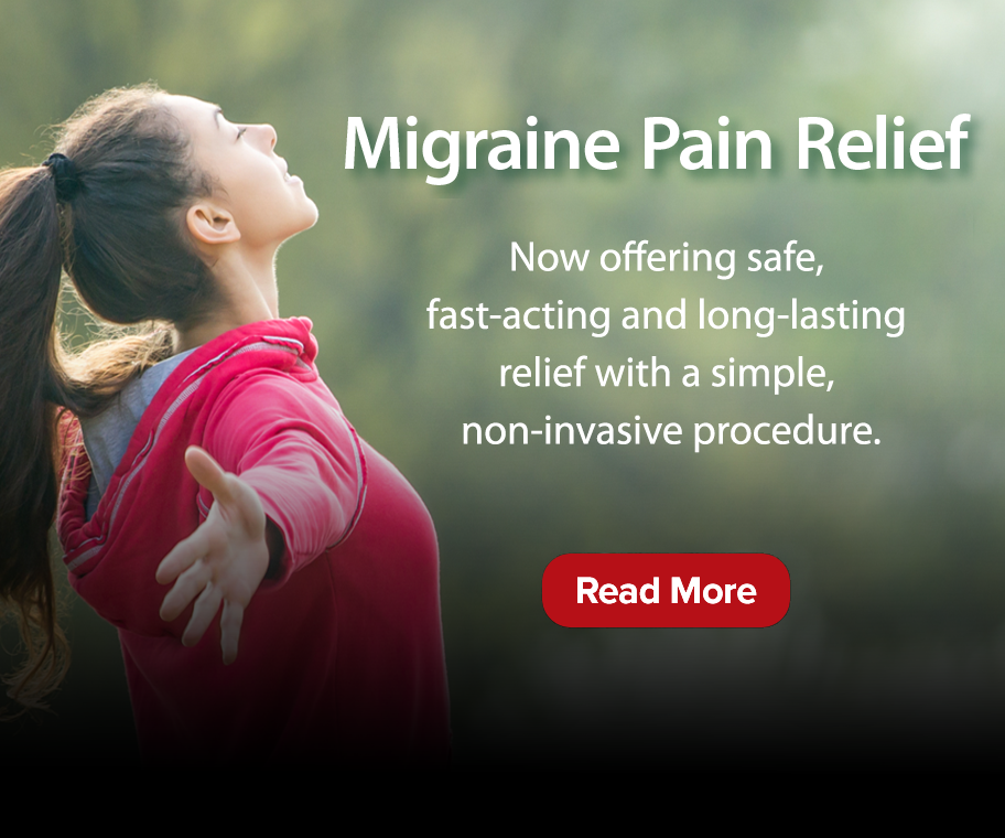 Find relief migraine headaches with a simple and effective procedure from Suburban Imaging.
